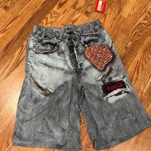 NWT men's Coca Cola shorts